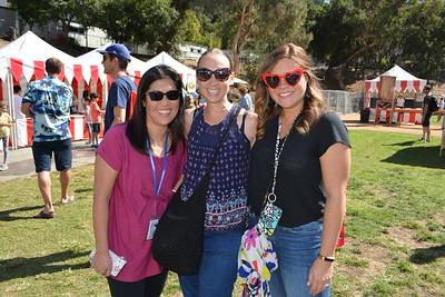 Cool teachers Jane Chang, Kerri Walsh and Karen Barnes 061