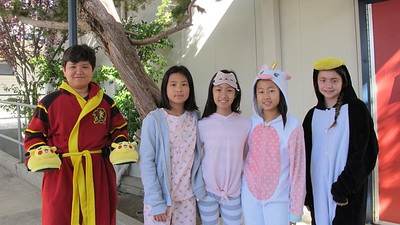 08 Bryan Green, Katie Jung, Colette Rinde, Sophie Chin and Talia Grafos