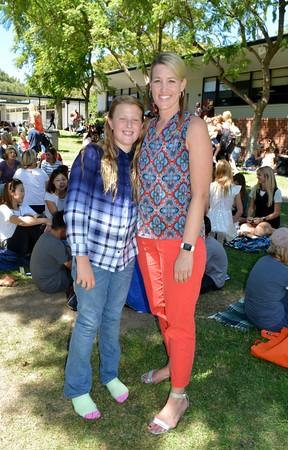 PCY Principal Carrie Hetzel with her daughter Lauren Adkins 453