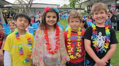 Paradise Canyon Students Say Aloha