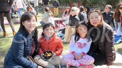15 Kyung Jin Park, Michael Kim and Michelleand Jacklyn Lee