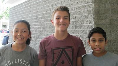 07 Emily Viguerias, Hayden Dancsecs and Keshav Fernando