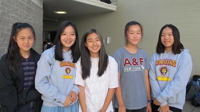 10Irene Lee, Ashely Choi, Elie Kim and Audrey Wong