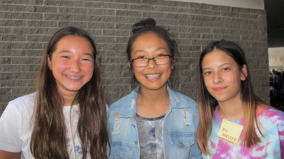 15 Natalie Suh, Katelyn Hung and Julie LaPointe