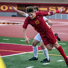 The La Canada Spartans defeat Blair High School in a varsity soccer match.