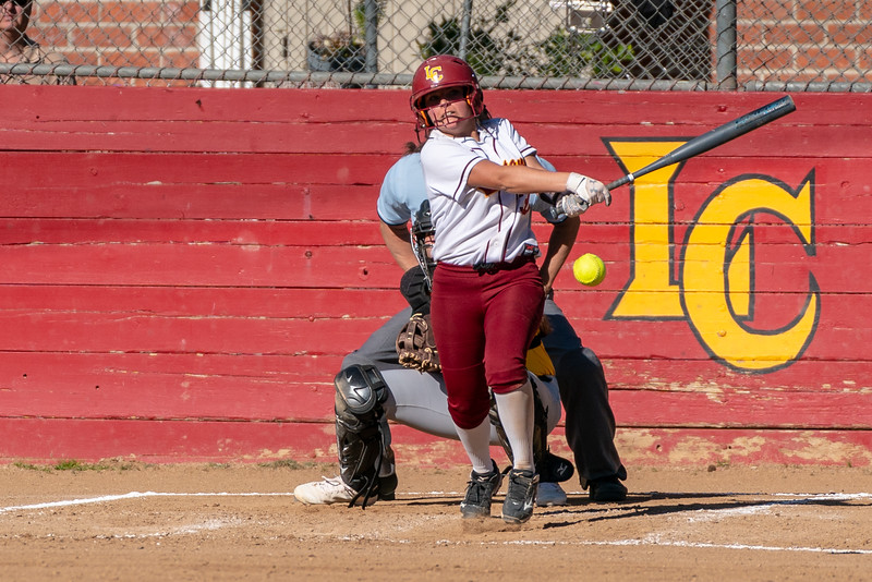 The La Canada Spartans host the Temple City Rams for a Varsity Softball game.