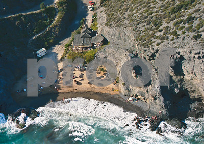 La Cala beach and restaurant, August 28th 1997