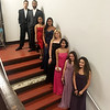 Styling and sophisticated LHS students, from left, Diego Pena, Kahlil McIntosh, Serena Inthirath, Tiffany Sin, Rita Mello, Kayla Mam, Valentina Florez and Chantel Perez.