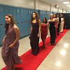 Stunning LHS student models make their way up the red carpet.