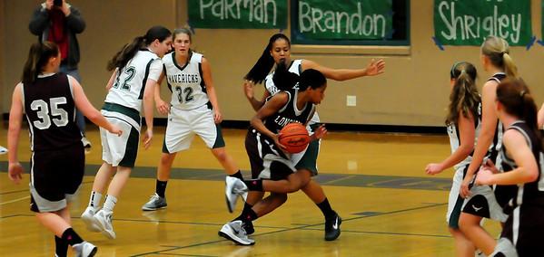 LCC Girls Basketball Varsity vs. RBV 2.03.12
