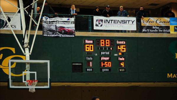 LCC Varsity Basketball vs. El Camino 2.12.13