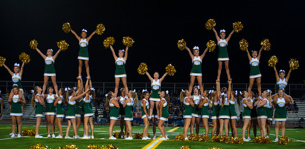 LCC Cheerleaders La Serna 8.26.16