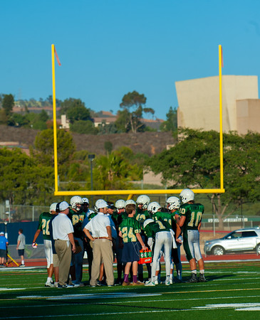 LCC JV Football vs. Poway 9.17.16