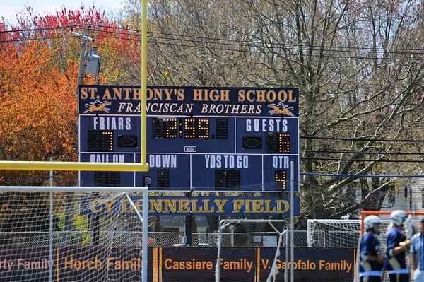 LCC Varsity Lacrosse vs. St. Anthony's NY 4.13.12