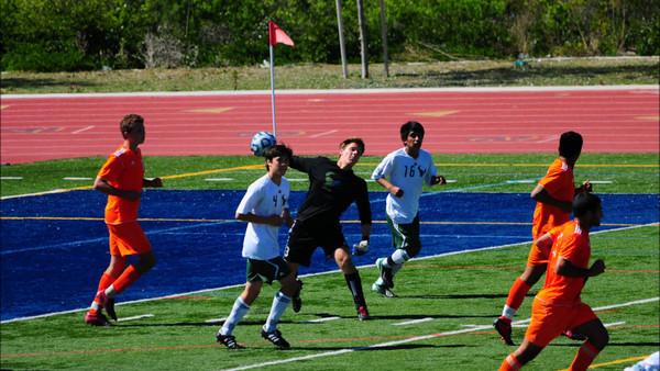 LCC Men's Soccer vs. Vahalla 3.2.13