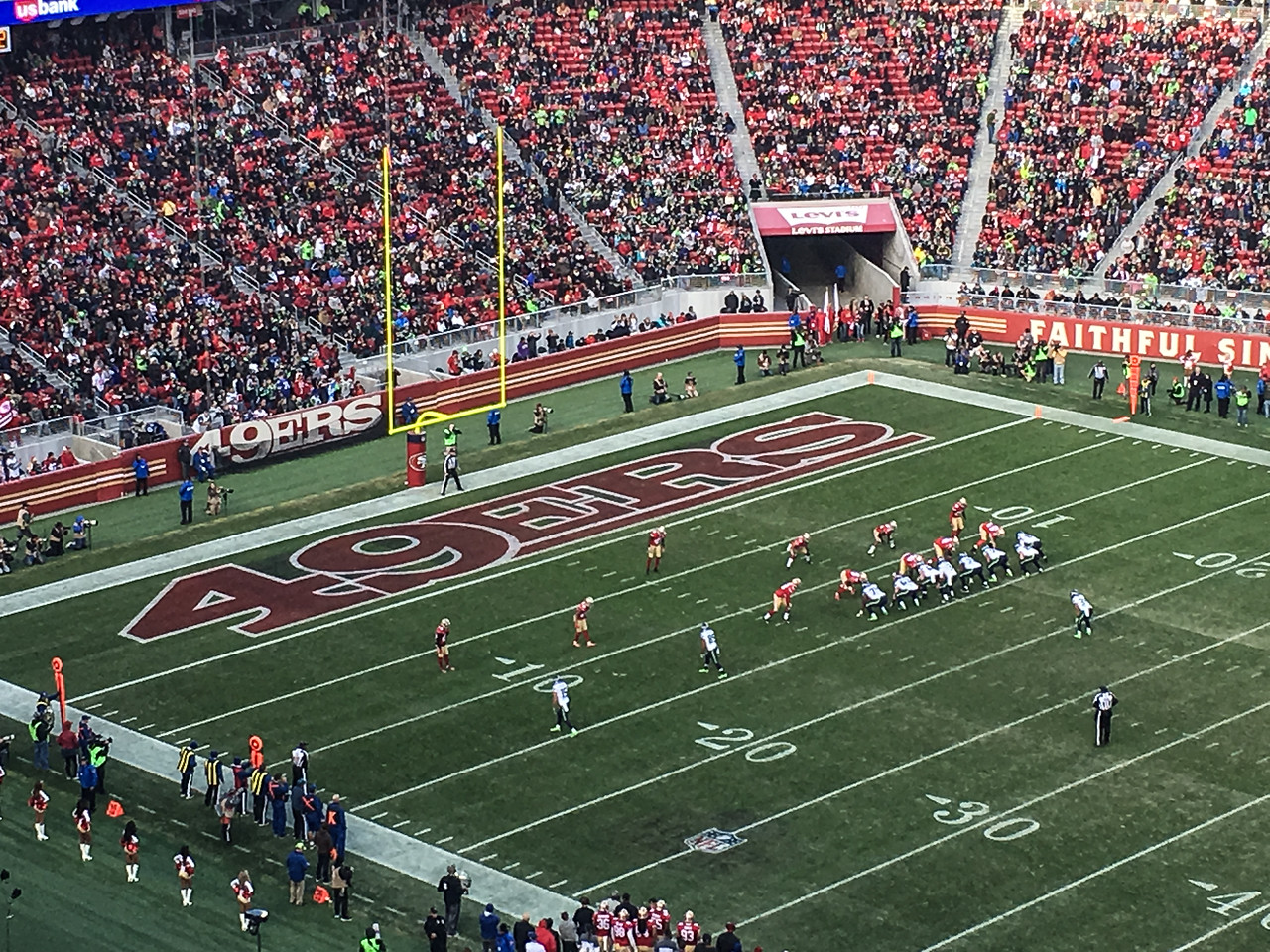 New Year's 49er-Seahawks Game