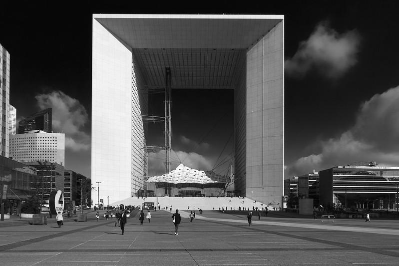 La Grande Arche - la Defense - Paris