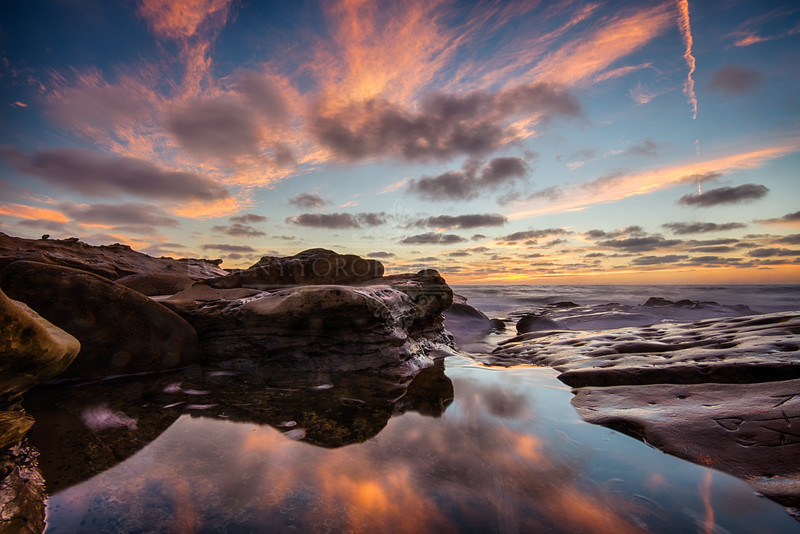 La Jolla Cove Reflecting