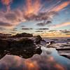 La Jolla Cove Reflecting