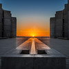 """Salk Autumnal Equinox Sunset"""