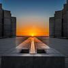 """Salk Autumnal Equinox Sunset"""