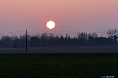 Coucher de soleil Fourneaux 4 C-Mouton