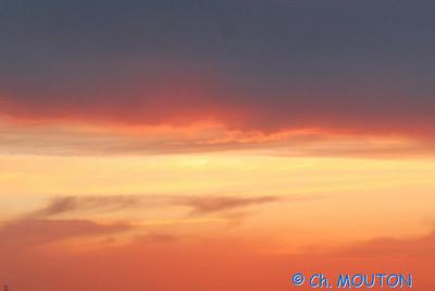 Coucher de soleil Beauce 9320 C-Mouton