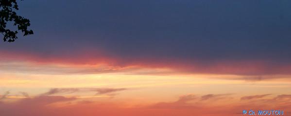 Coucher de soleil Beauce 9321 C-Mouton