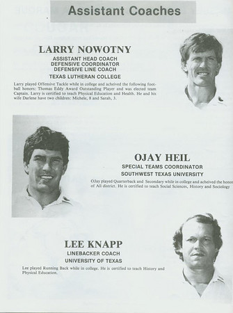 1985 Program