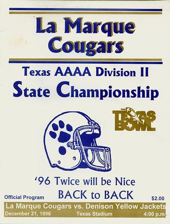 1996 Program