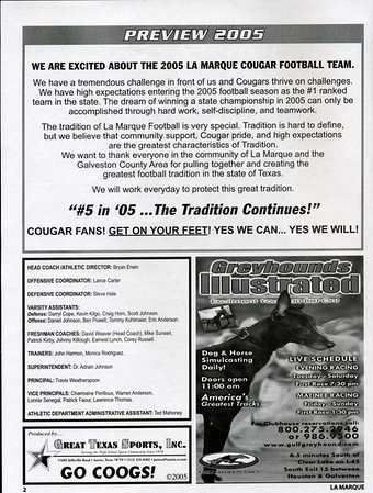 2005 Program