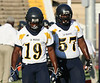 #19 Willie Rollerson DE-TE (Sr) and #57 John Freeman (DT-OL Sr)