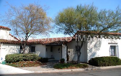 7910 El Capitan Drive, La Mesa, CA - 1931 Fouchy House - Spanish Eclectic Style - Alberto Treganza,  Architect