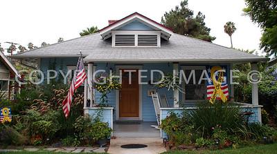 4582 Palm Avenue, La Mesa, CA - 1909 Harry and Vada Robertson House