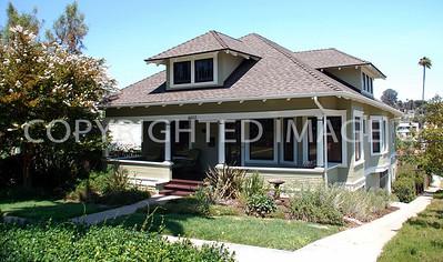 4603 Date Avenue, La Mesa, CA - 1910 Wentz-Park House - Craftsman Style
