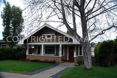 4612 Third Street, La Mesa, CA - 1911 Sara A. and Milo W. McNeil House - Craftsman Style