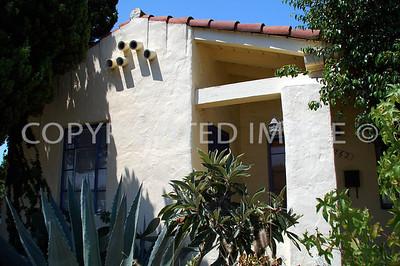3262 Main Street, Lemon Grove, CA - 1926 Spanish Revival Style - Alberto Treganza, Architect
