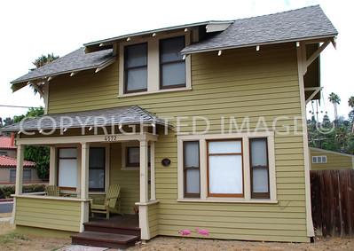4572 Palm Avenue, La Mesa, CA - 1910 Robertson House