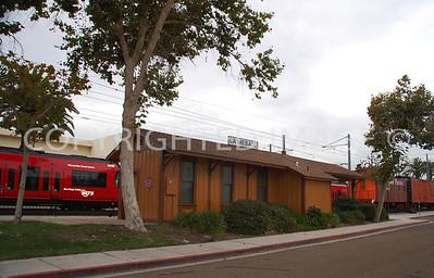 4695 Nebo Drive, La Mesa, CA - 1896 La Mesa Railroad Depot