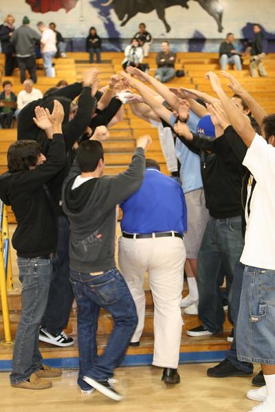 Cerritos vs La Mirada. Game played at La Mirada High.