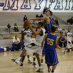 Boy's varsity basketball. La Mirada vs Mayfair