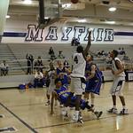 Boy's varsity basketball. La Mirada vs Mayfair