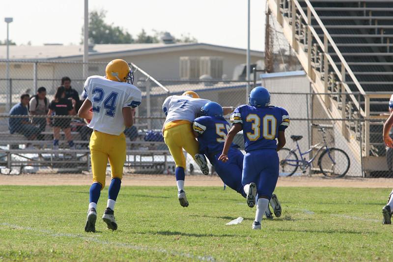 La Mirada JV vs Charter Oak. Game played at Charter Oak High. September 15, 2005