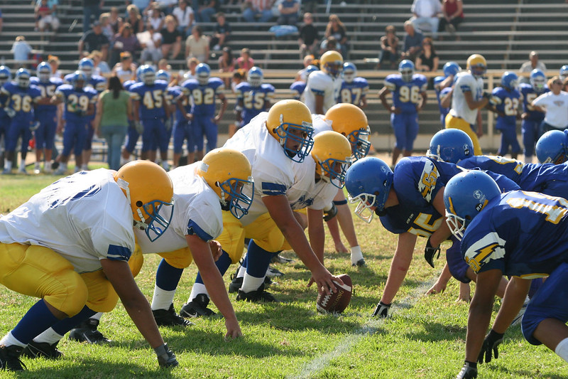 La Mirada JV vs Charter Oak. Game played at Charter Oak High. September 15, 2005