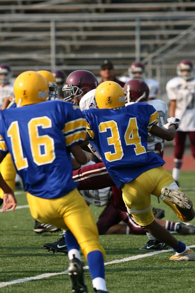 Paramount vs La Mirada. Game played at La Mirada High. September 21, 2006