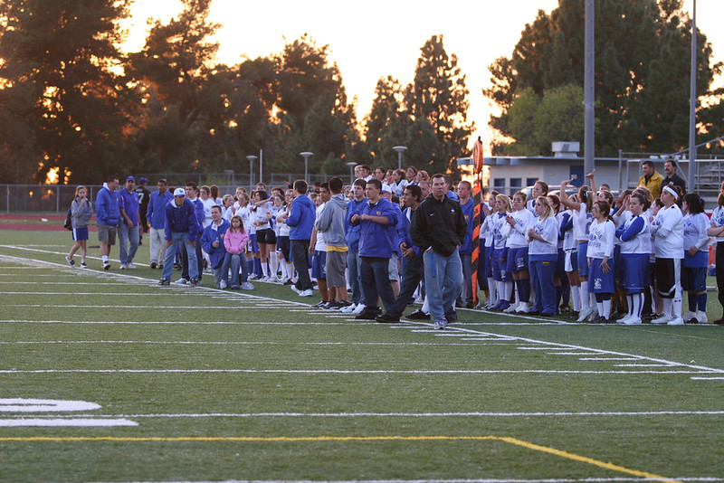 La Mirada High School 2006 Powder Puff Football. Class of 2006 vs 2007.