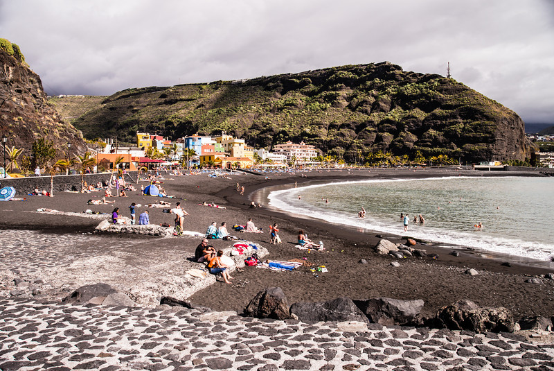 La Palma, Canary Islands<br /> Tazacorte Beach