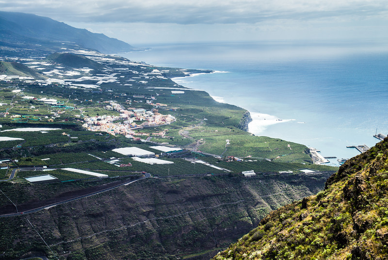 La Palma, Canary Islands<br /> View from El Time overlooking Tazacorte