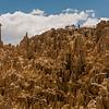 Landscape at Valle de la Luna near La Paz, Bolivia