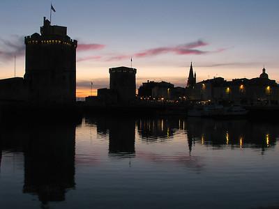 La Rochelle - Couchers de soleil